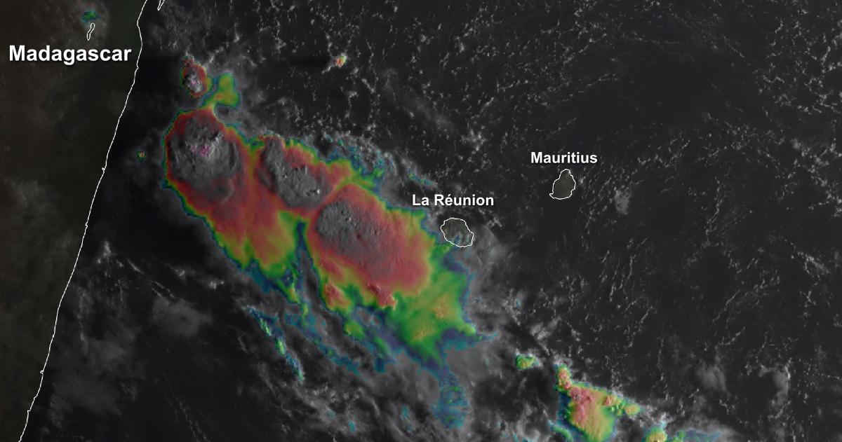 25 mars degradation pluvio orageuse la reunion