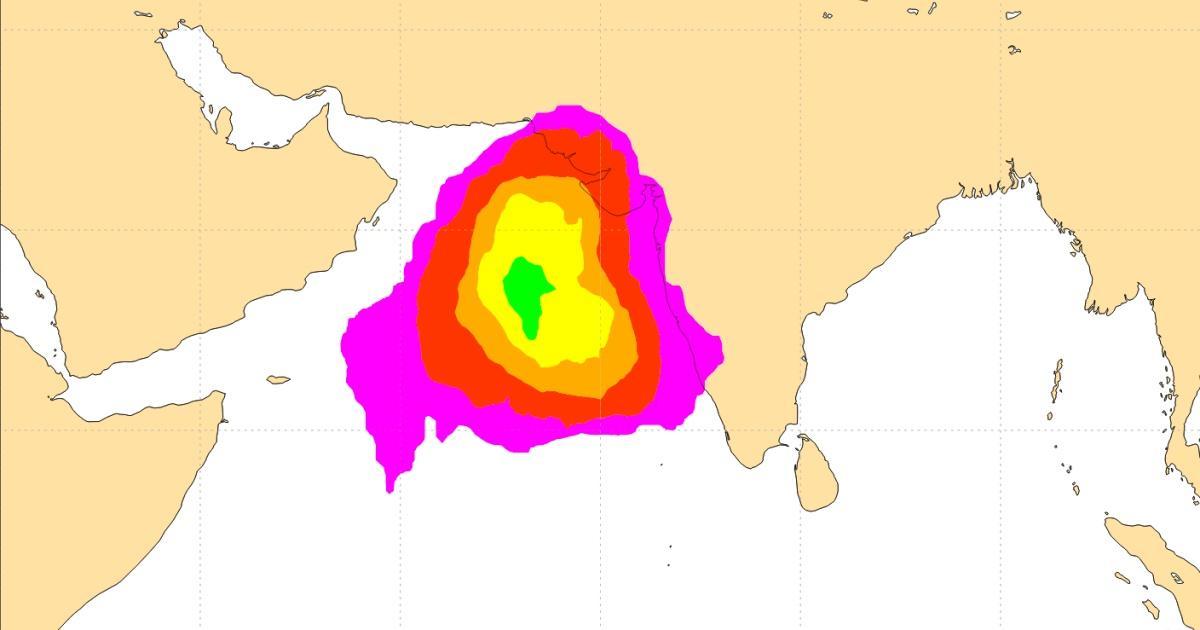Cyclogenese ocean indien nord 1
