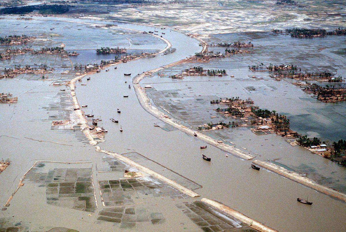 Cyclone bangladesh 1991 inondation