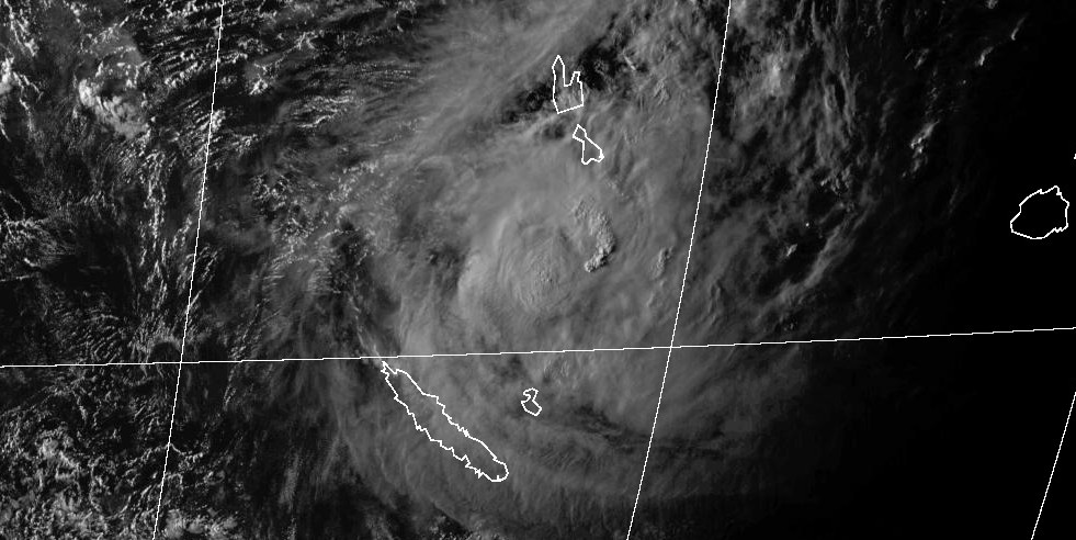 Cyclone cook menace cyclonique nouvelle caledonie