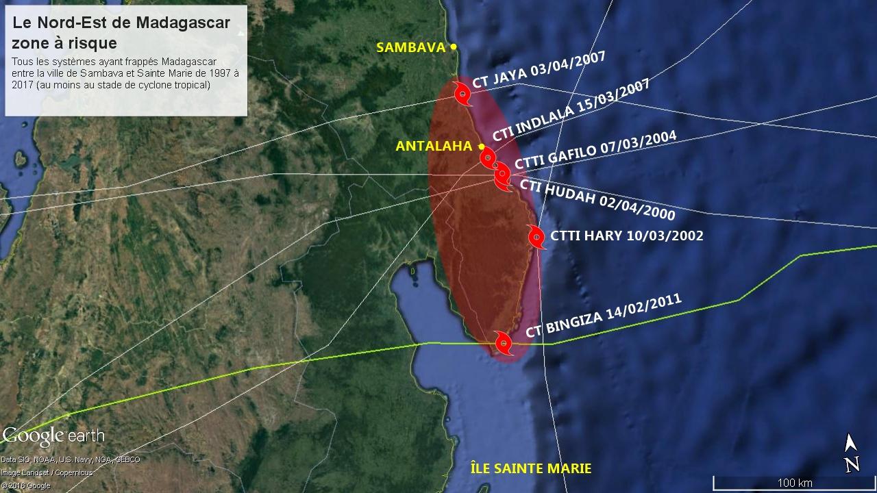 Le nord-est de Madagascar une zone à risque