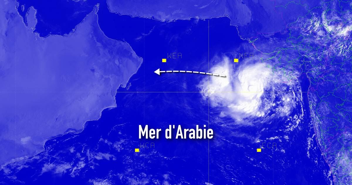 Cyclone ocean indien nord