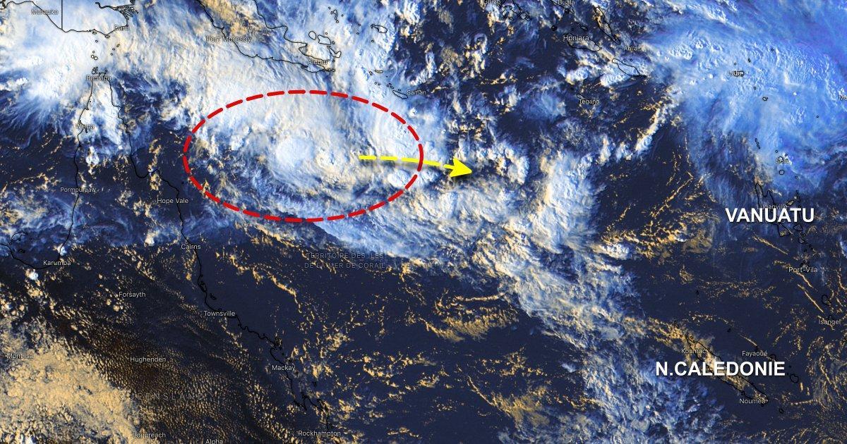 Cyclone pacifique sud nouvelle caledonie