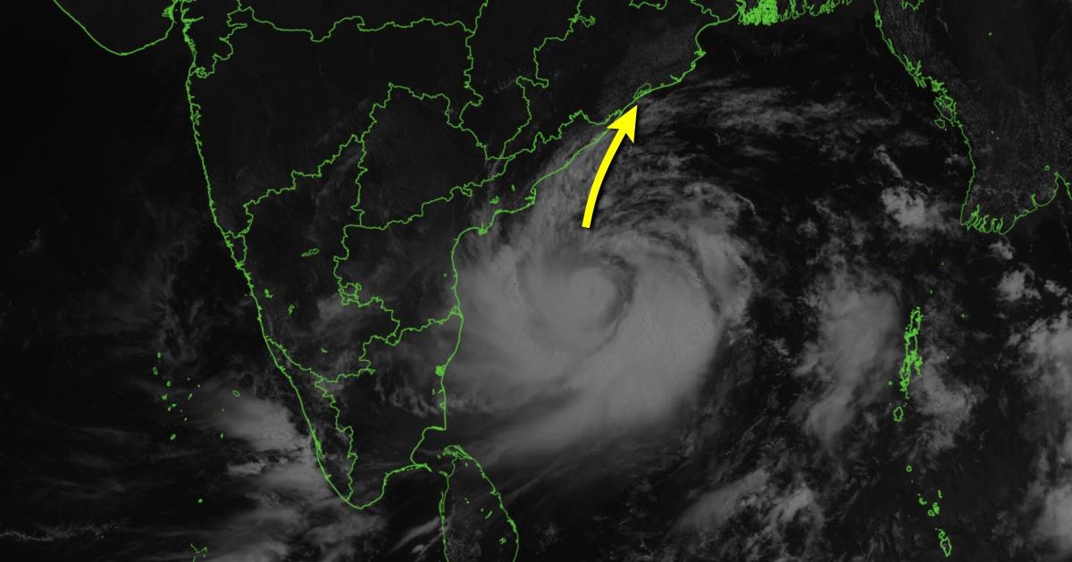 Cyclone tropical fani