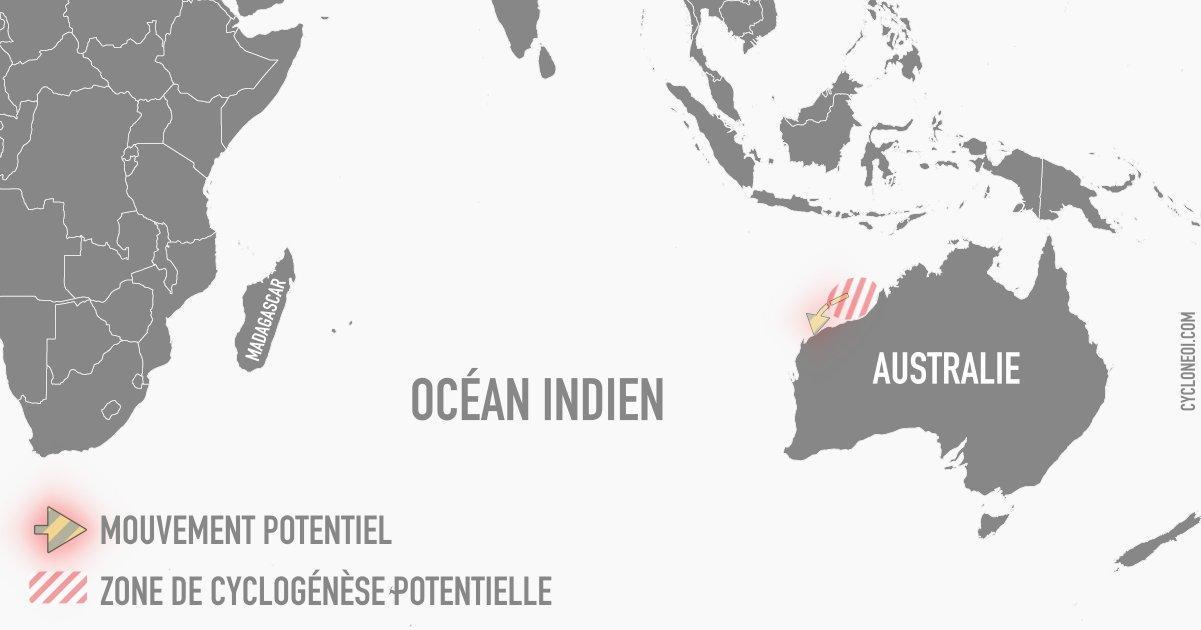 cyclogenese ocean indien sud-est