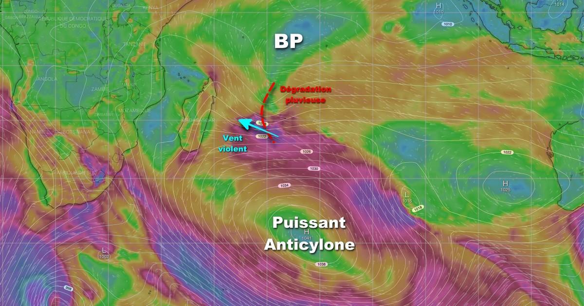 Degradation meteorologique maurice et re union