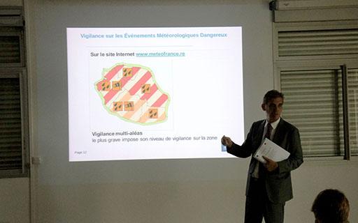 Dominique SORAIN préfet de la Réunion