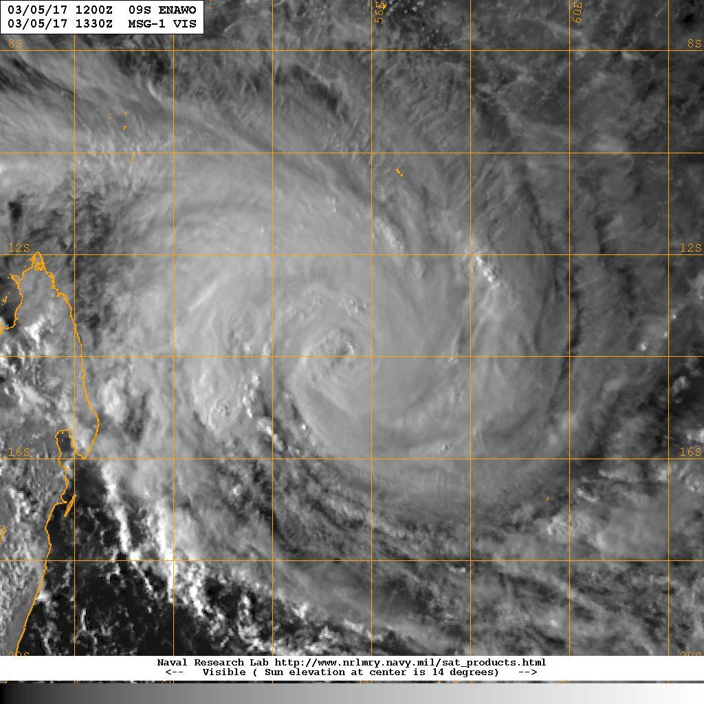 image satellite d'Enawo le 05/03/2017 à 12z