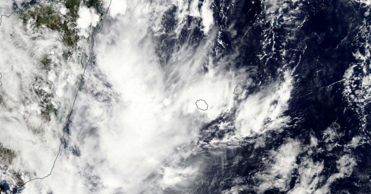 Orage sur la Réunion