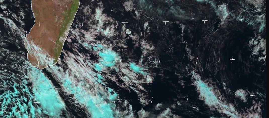 Image satellite océan indien sud-ouest ©Eumetsat