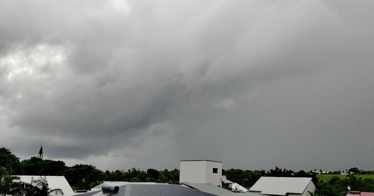 Forte pluie avril la reunion