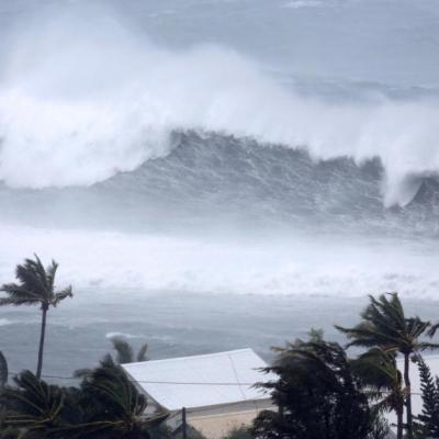 Cyclone Giselle à la Réunion, il y a 55 ans