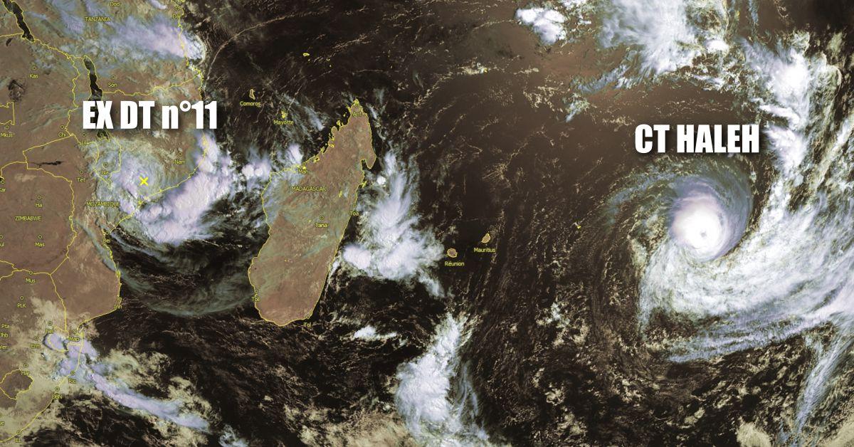 cyclone tropical Haleh