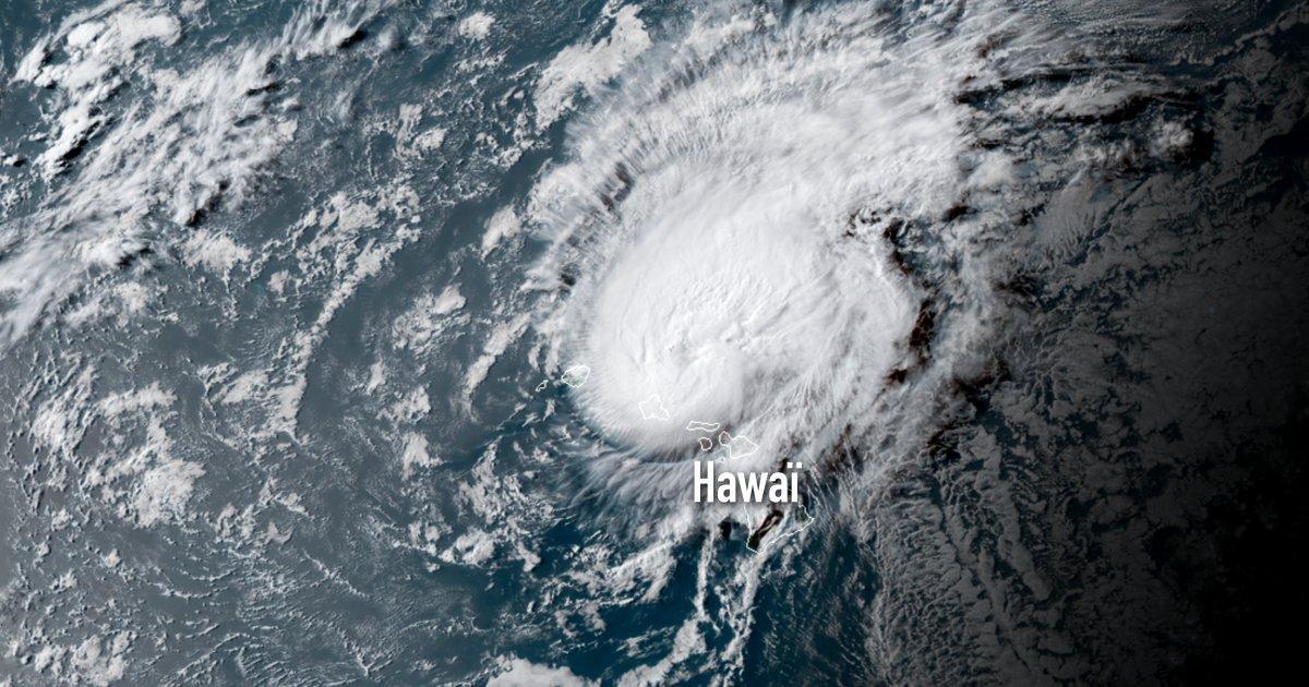 Hawai ouragan douglas