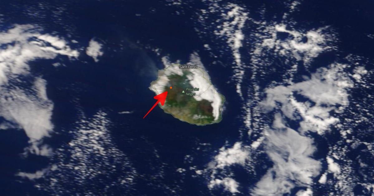 Incendie maido novembre 2020 satellite terra