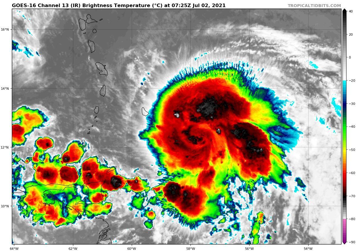 image satellite elsa