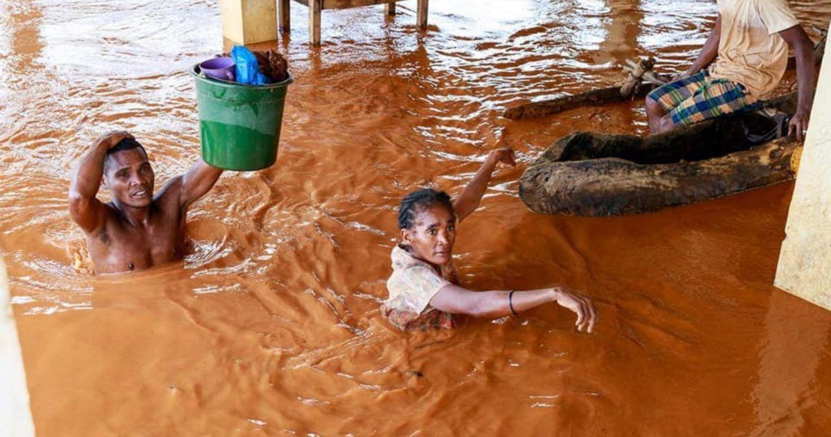 Inondation a madagascar janvier 2020