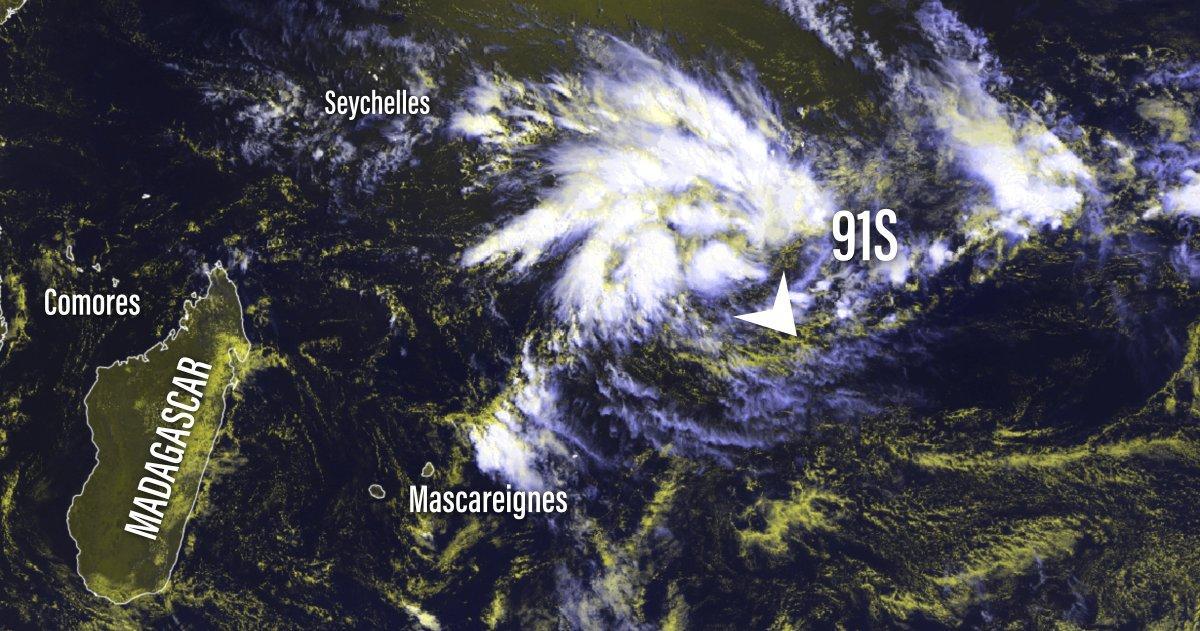 future tempête tropicale Irondro
