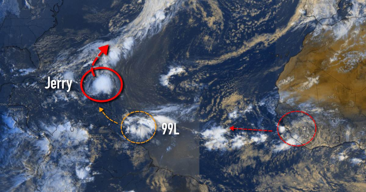 Jerry 99l cyclogenese