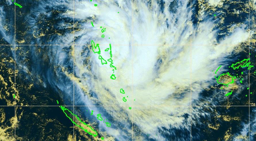 Menace cyclonique nouvelle caledonie 1
