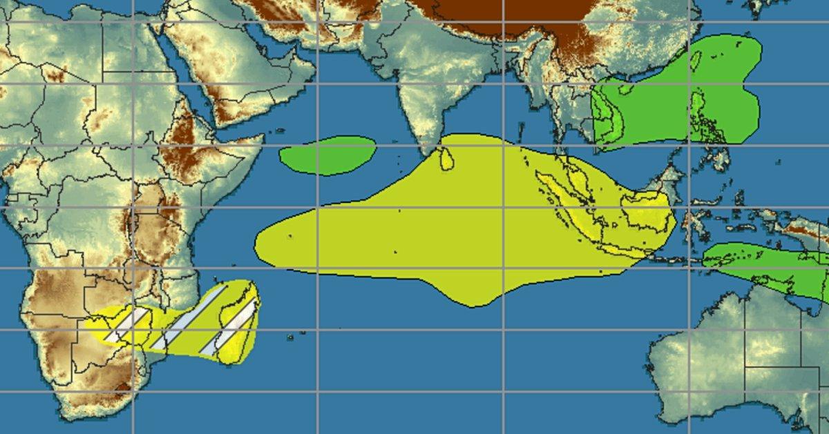 prévision activité cyclonique océan indien