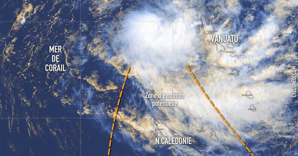 future tempête tropicale uesi