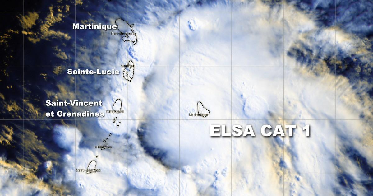 Ouragan elsa