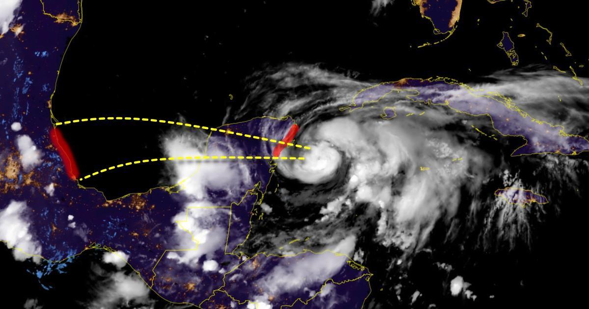 Ouragan grace mexique