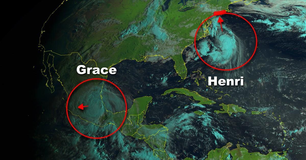 Ouragan grace ouragan henri