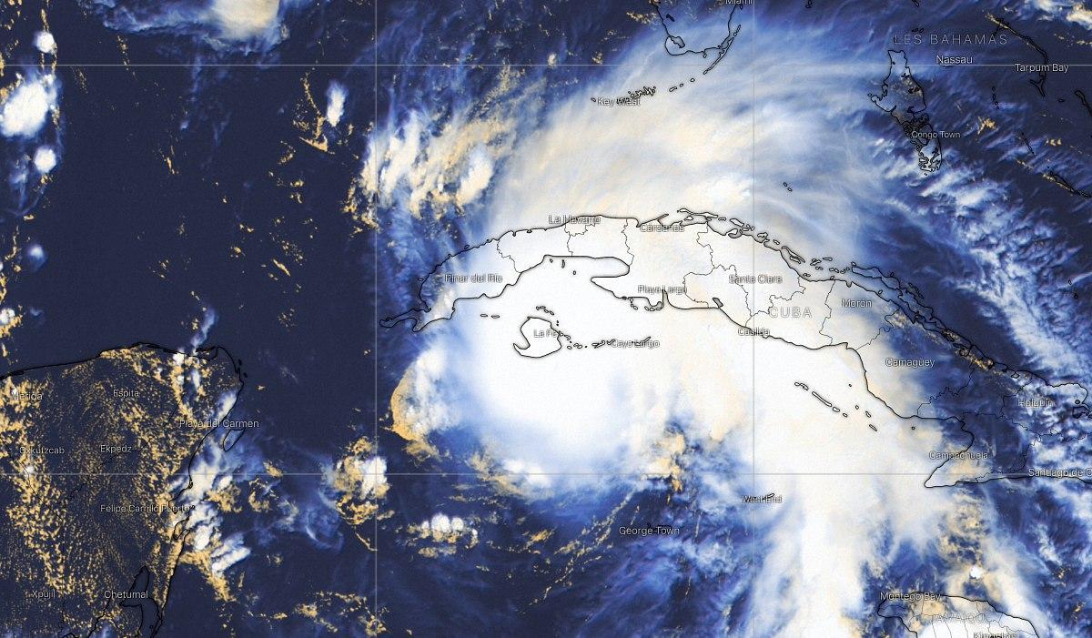 Ouragan ida sur cuba
