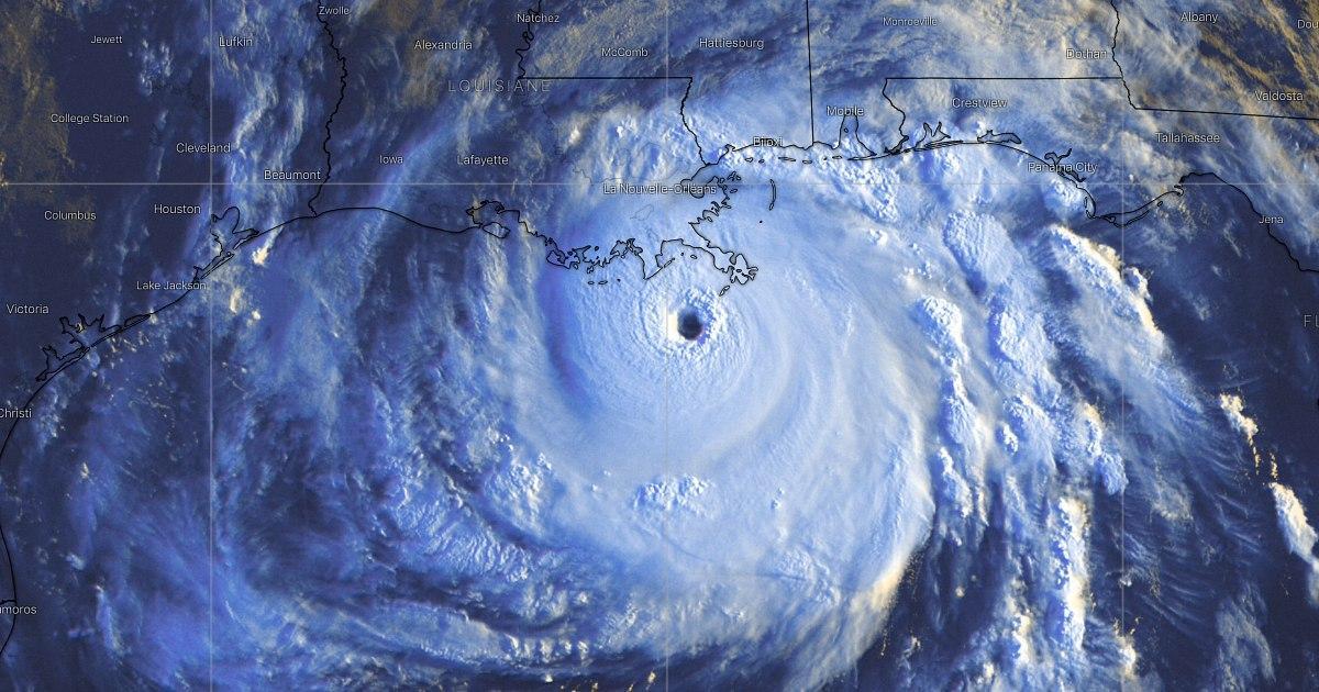Ouragan majeur ida lousiane