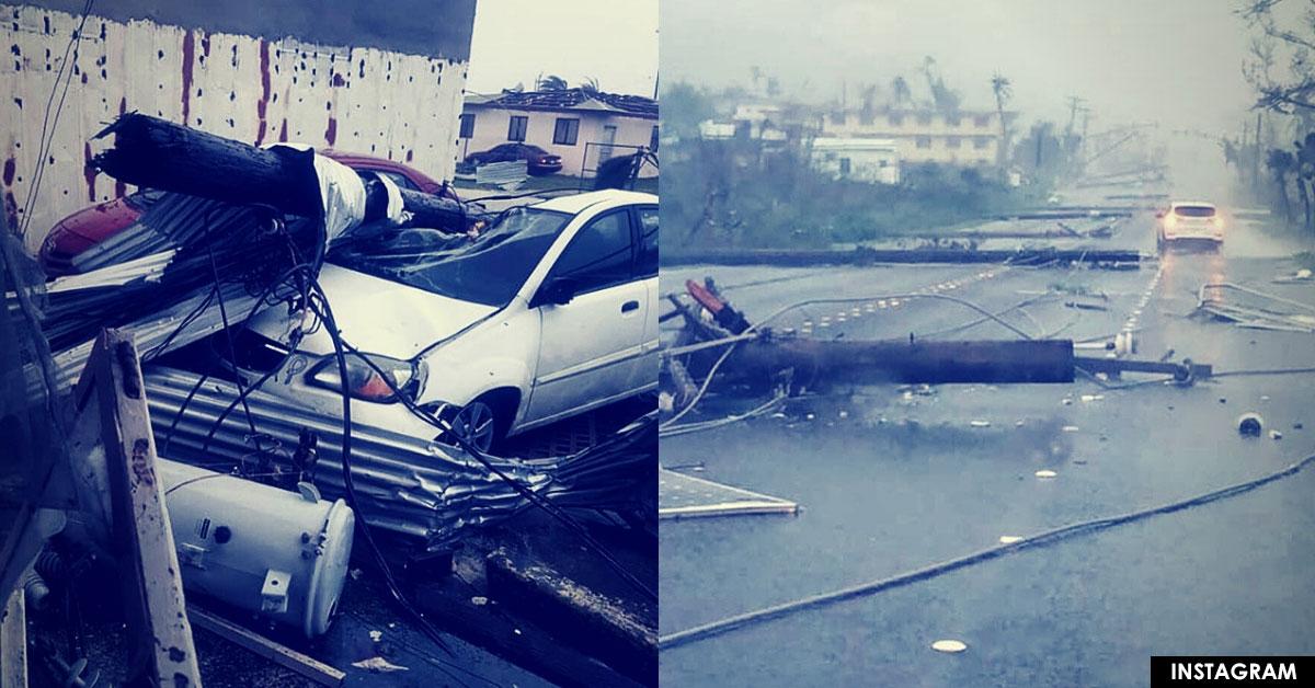 Désolation à Saipan après le passage du super typhon YUTU