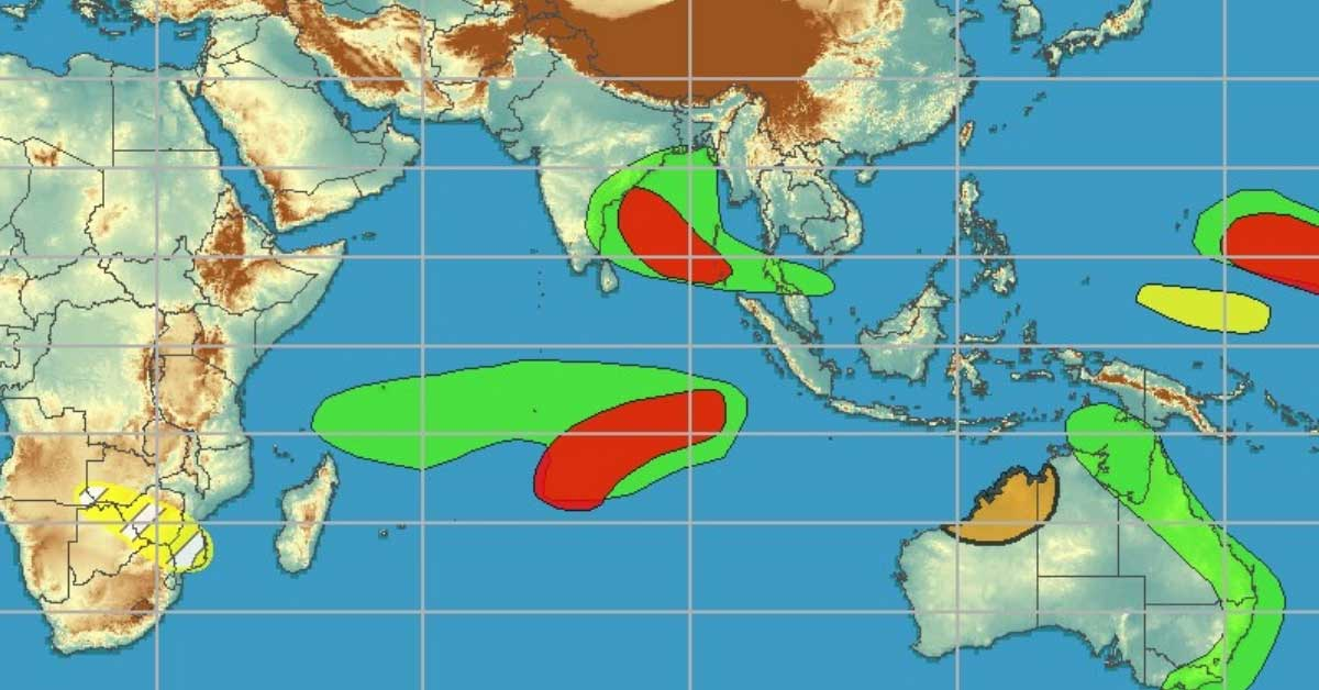 Prevision activite cyclonique ocean indien