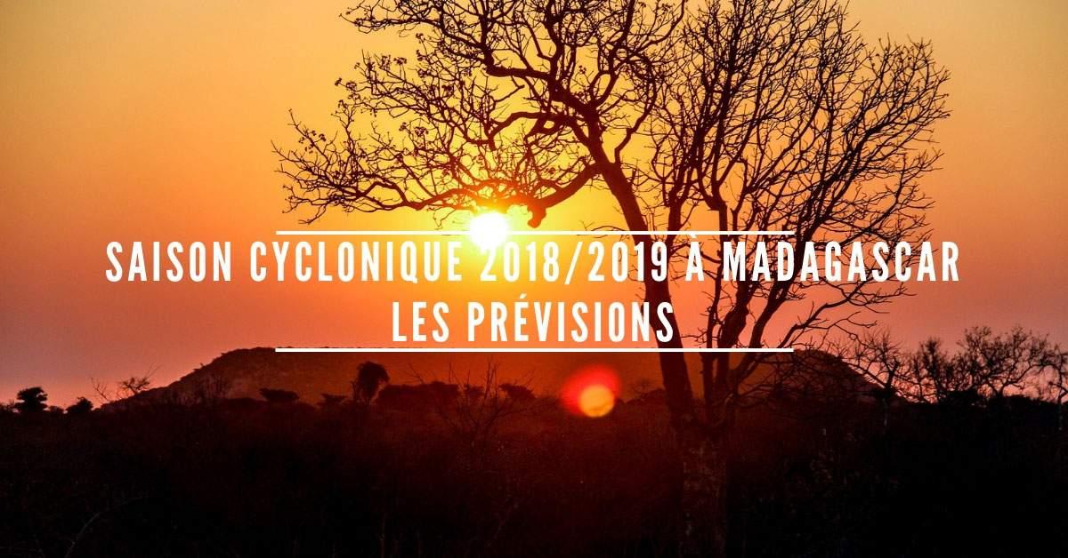 Saison cyclonique 2018 2019 madagascar