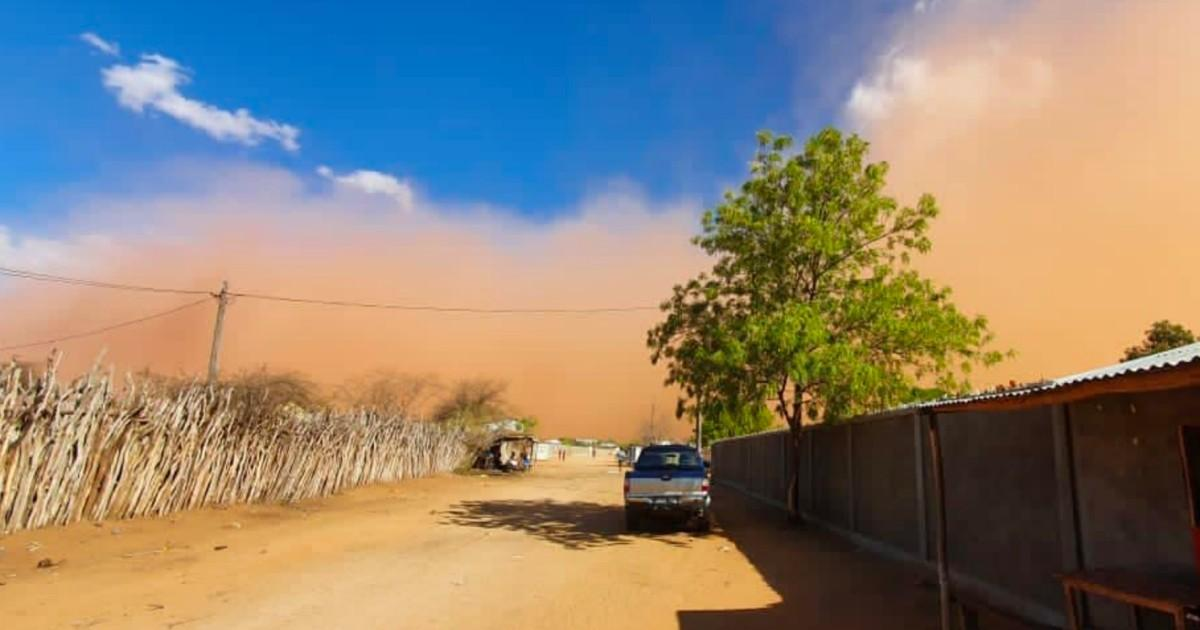 Tempete de sable madagascar