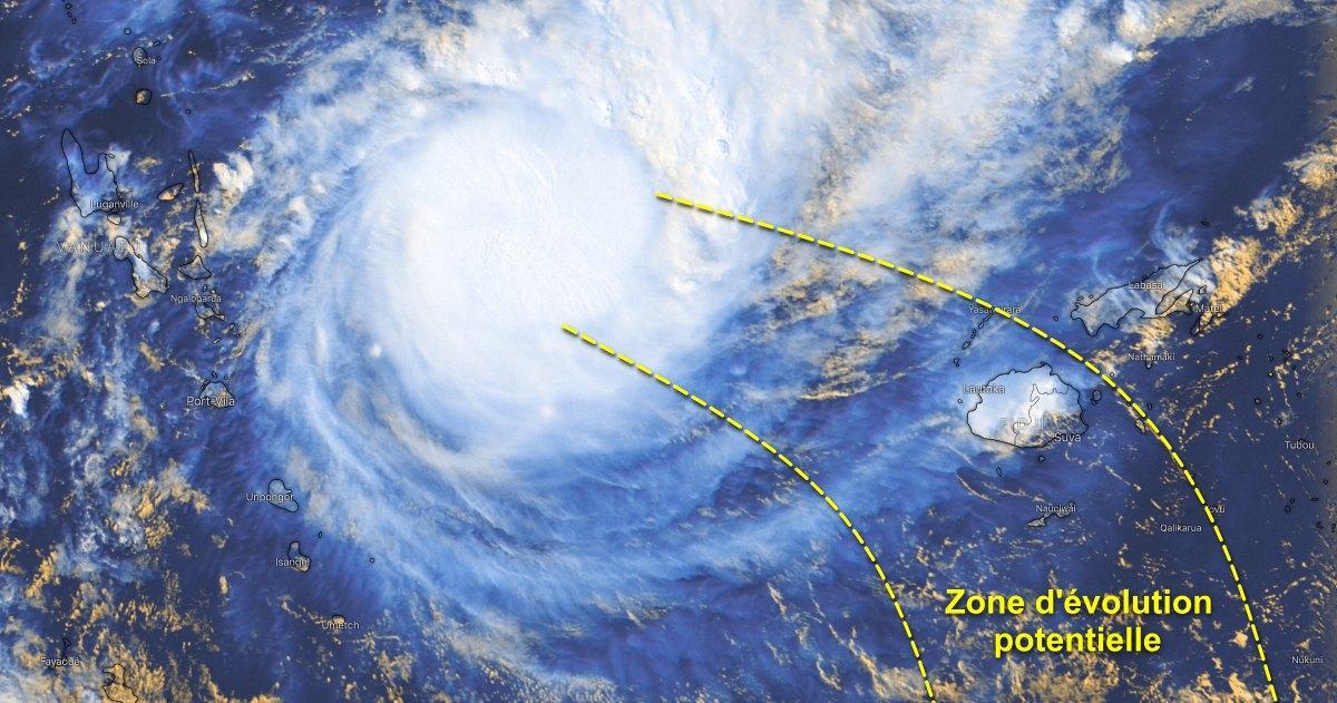 Track storm yasa