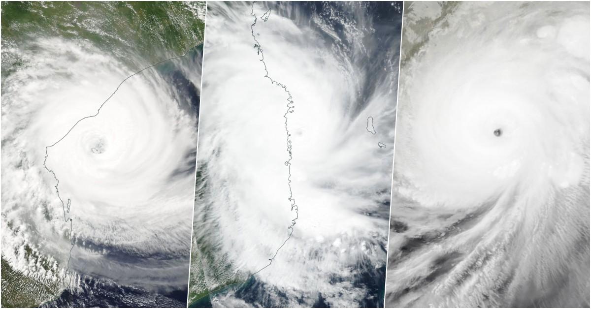 Trio cyclone