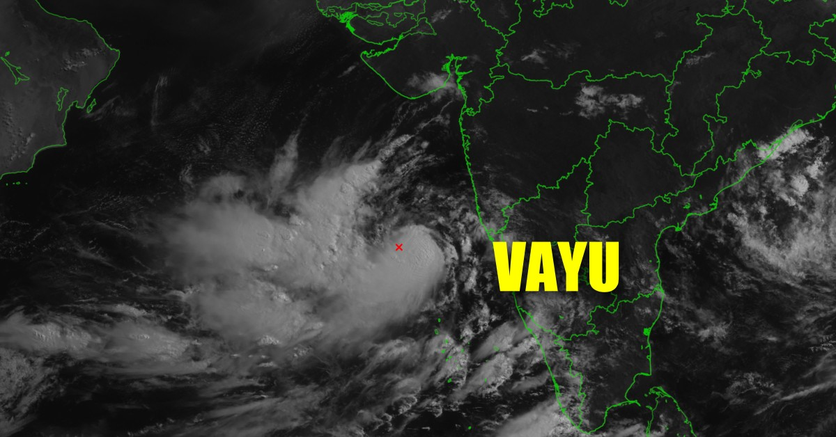 Tropical cyclone vayu